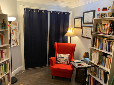 Therapy space picture #1 for Elif Angel  Raynor , therapist in Florida