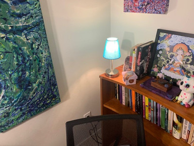 Therapy space picture #1 for Aaron Mason (they/them), therapist in California