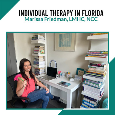 Therapy space picture #1 for Marissa Friedman, therapist in Florida, New Jersey