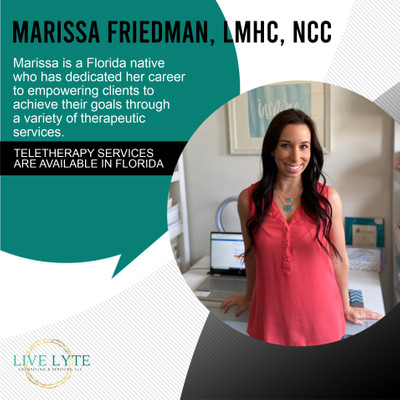Therapy space picture #2 for Marissa Friedman, therapist in Florida, New Jersey