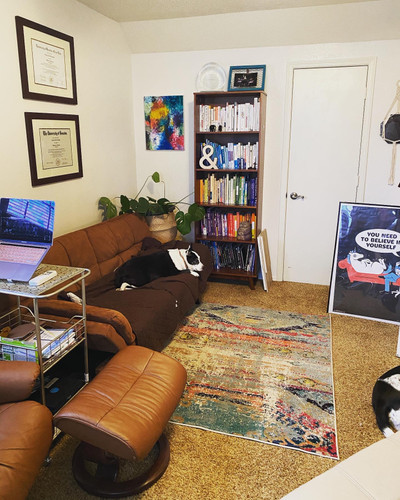 Therapy space picture #2 for Jessica Eiseman, therapist in Illinois, Texas
