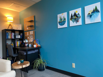 Therapy space picture #1 for Emily Thomas, therapist in Oregon