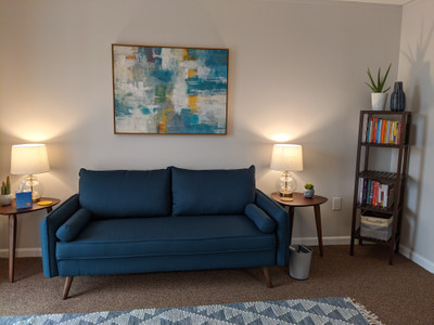 Therapy space picture #1 for Sarah Eisenhauer, therapist in Illinois, South Carolina