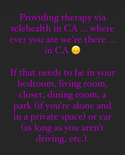 Therapy space picture #1 for Sheera Harrell, therapist in California