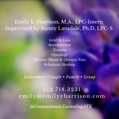 Therapy space picture #1 for Emily E. Harrison, M.A., therapist in Texas