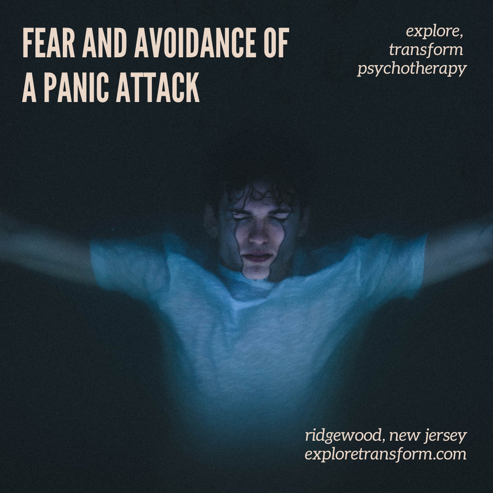 Fear and Avoidance of a Panic Attack